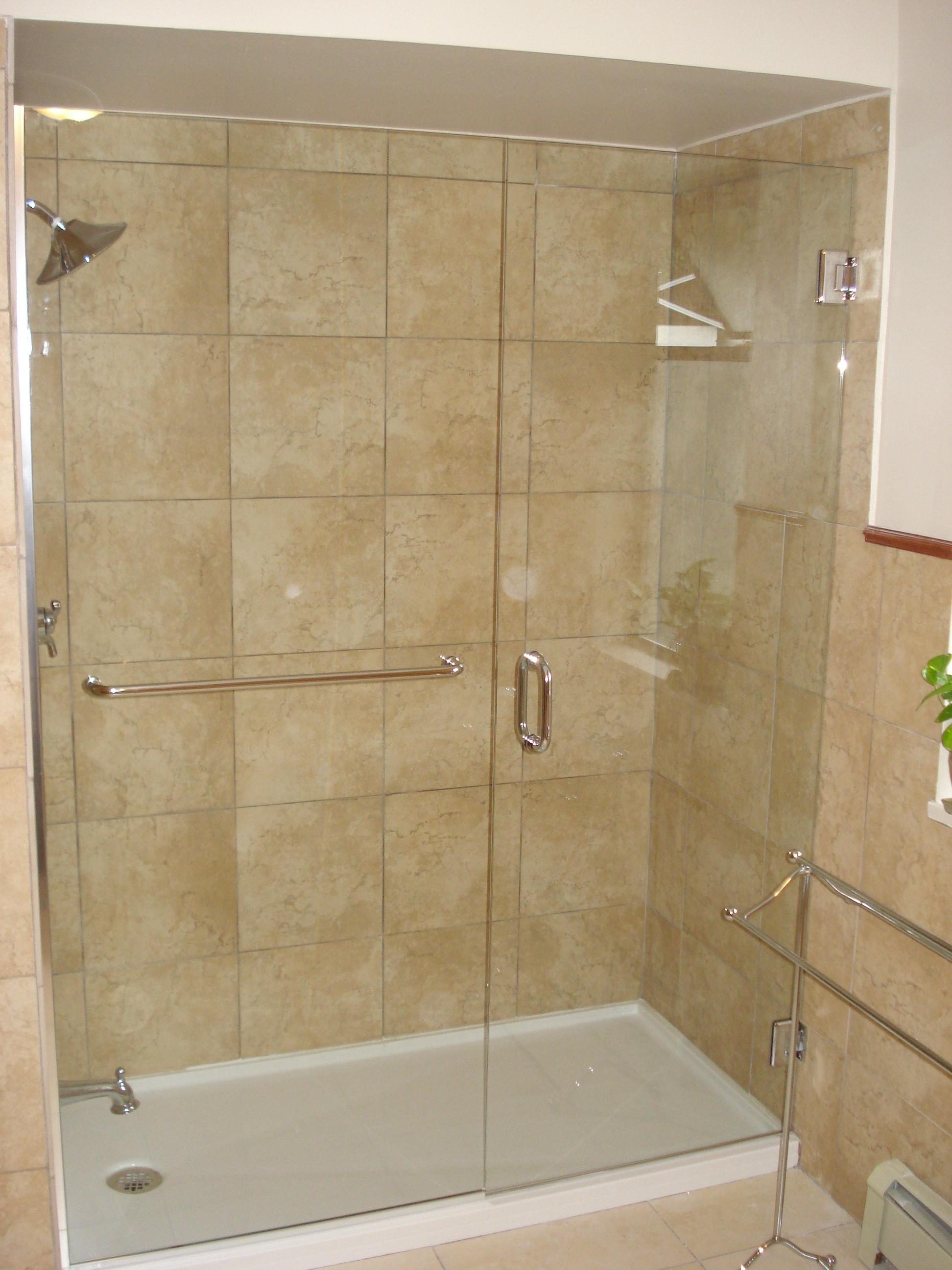 12   Kristy glass   Frameless custom shower doors